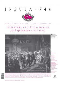 Literatura y política: Manuel José Quintana ( 1772-1857)
