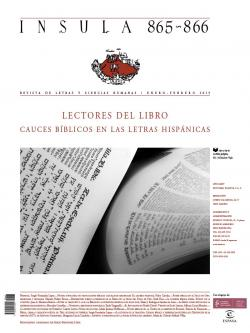 Lectores del Libro. Cauces bíblicos en las letras hispánicas