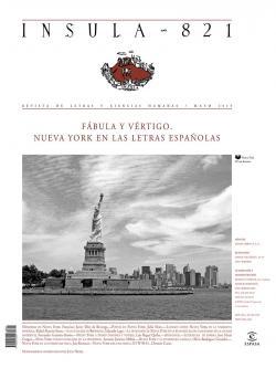 Fábula y vértigo. Nueva York en las letras españolas