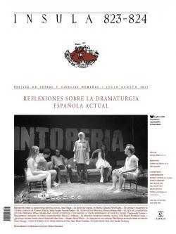 Reflexiones sobre la dramaturgia española actual