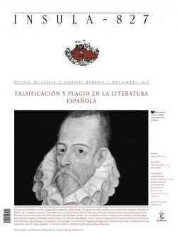 Falsificación y plagio en la literatura española